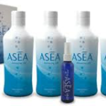 ASEA 4 bottles and a spray bottle