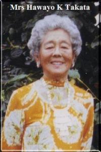 Hawayo Takata, 1st American Reiki Master