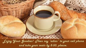 Nancy's Novelty Infographics Coffee and Bread My Persuasive Presentations, LLC